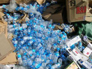 pet palack hulladék