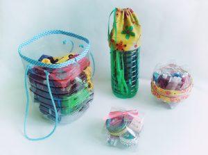 Mütyür tárolók PET palackokból