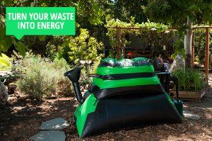 Konyhai hulladékból megújuló energia- biogáz termelés otthon