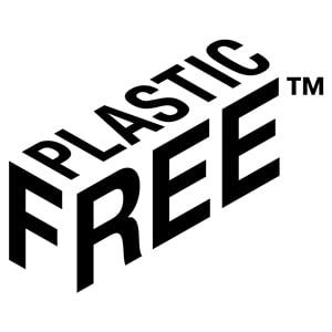 Műanyagmentes csomagolás címke