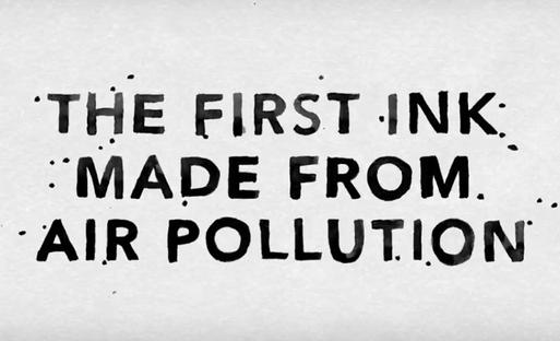 AIR-INK: levegőszennyezésből tinta