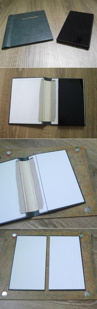 Tablet tok készítése újrahasznosítással